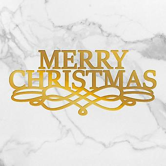 Couture Creations Hot Foil Stamp Die Merry Christmas Scroll