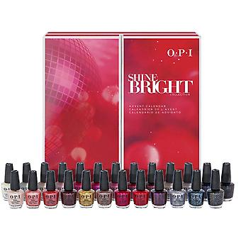OPI Shine Bright 2020 Limited Edition Holiday Nail Polish Collection - Mini 25-Advent Kalender (HRM20)