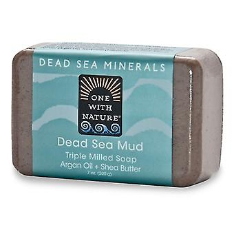 One With Nature Dead Sea Minerals Triple Milled Bar Soap Dead Sea Mud