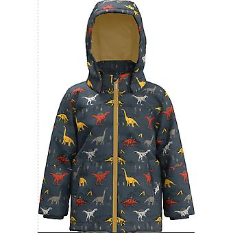 Name-it Boys Wintercoat Max Dinosaur Ombre Blue