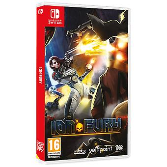 Ion Fury Nintendo Switch Game