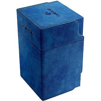Gamegen gen uitkijktoren 100-kaart Convertible Deck Box Blauw