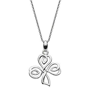 Heritage Sterling Silver Allena Knot Clover Pendant 9317HP024
