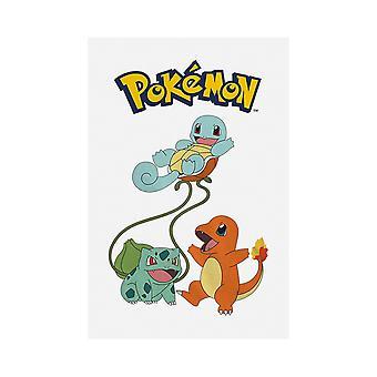 Pokemon Childrens/Kids Original Trio T-Shirt