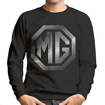 MG Chrome Logo British Motor Heritage Men's Sweatshirt