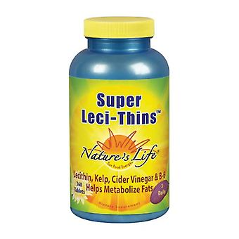 Nature's Life Super Leci-Thins, 360 tabs
