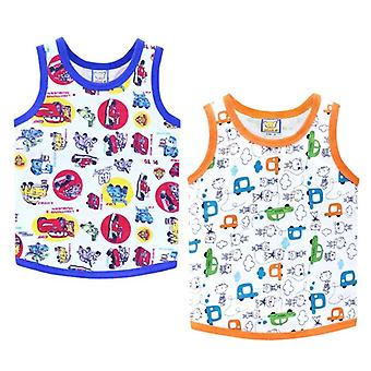 Children Cotton Shirts O Neck Clothes For Sports
