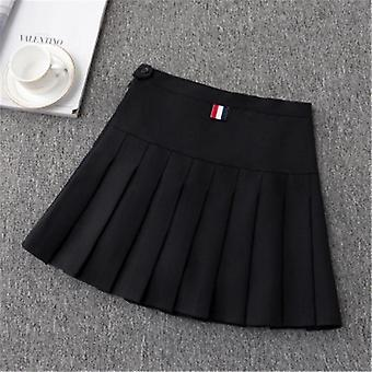 Girls Tennis Skirt- High Waist Uniform With Inner Shorts
