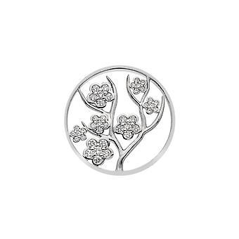 Emozioni Sterling Zilveren Plaat Fiore 33mm Coin EC513