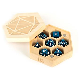 Custodia MDG Premium Wood Hexagon Dice