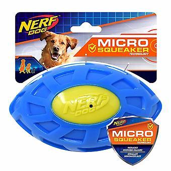 Nerf Dog Micro Squeak Exo Football