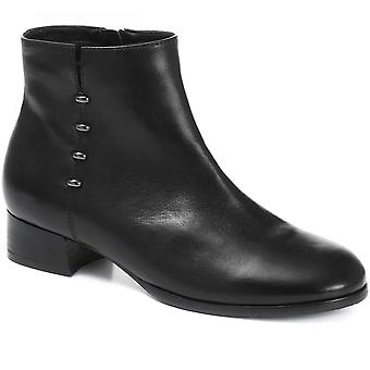 Regarde Le Ciel Womens Cristion-01 Studded Leather Ankle Boots