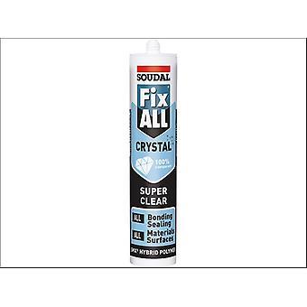 Soudal Fix All Crystal Clear 290ml 118779