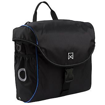 Willex Bicycle Bag 19 L Black and Blue 16002