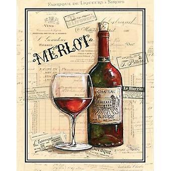 Chateau Rouge plakat Print af Gregory Gorham