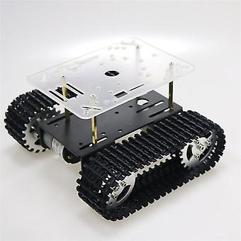 Smart Robot Tank Chassis Tracked Car With Motor For Arduino Diy Robot Toy
