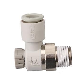 Pneumatic Air Speed Control Valve Fitting Connector 8mm AS2201F-02-08SA