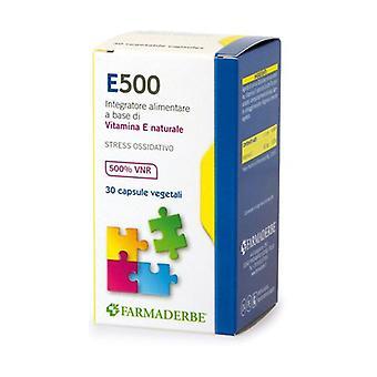 E 500 30 CPS 30 capsules