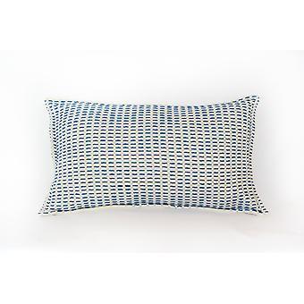 Iza Pillow Indigo + Seaglass
