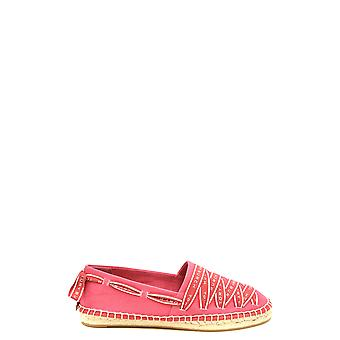 Tory Burch Ezbc074014 Women's Red Fabric Espadrilles