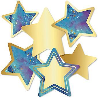Galaxy Stars Ausschnitte, Packung mit 36