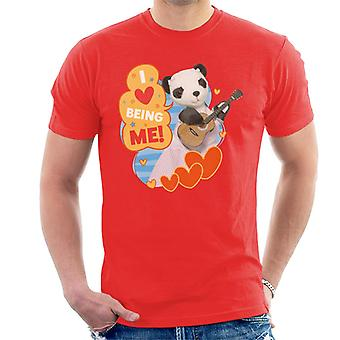 Sooty so I Love Being Me Men's T-Shirt