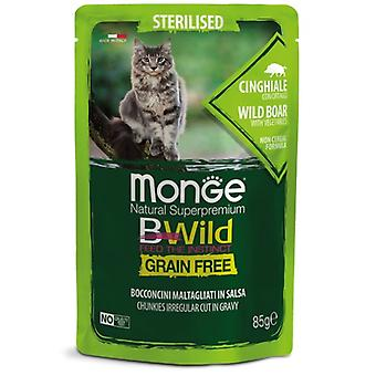 Monge Sterilized Wild Boar And Vegetables (Cats , Cat Food , Wet Food)