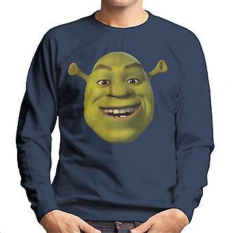 Shrek Smilende Mænd's Sweatshirt