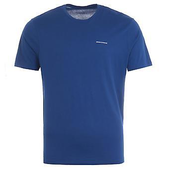 Armani Exchange Small Logo T-Shirt - Blue