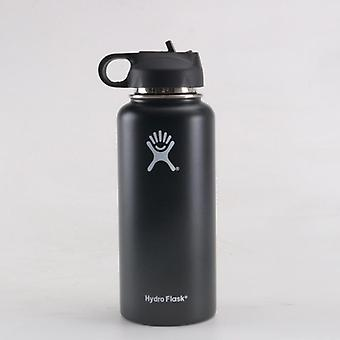 Tumbler Flask, Vacuum Insulated, Stainless Steel, Water Bottle, Wide Mouth,