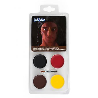 Palette Face Paint Indian Water Base