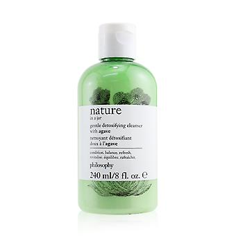 Nature in a jar gentle detoxifying cleanser with agave 258947 240ml/8oz