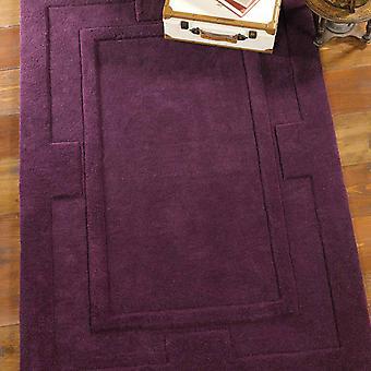 Alfombras de Apolo de sierra en púrpura