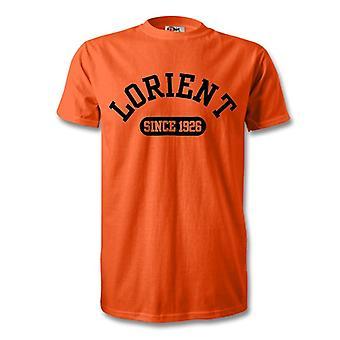 Lorient 1926 perustettu Football t-paita