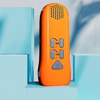 3 In 1 Multi-function 3 LED Flashlight Hand Shake Alarm Automatic Radio Mobile Power Bank Flashlight