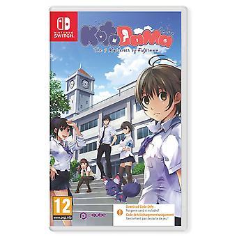 Kotodama The 7 Mysteries of Fujisawa Nintendo Switch Game [Code in a Box]