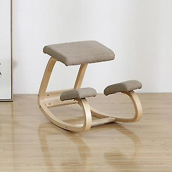 Original Kneeling Chair Stool Ergonomic Correct Posture Knee Anti-myopia Wooden