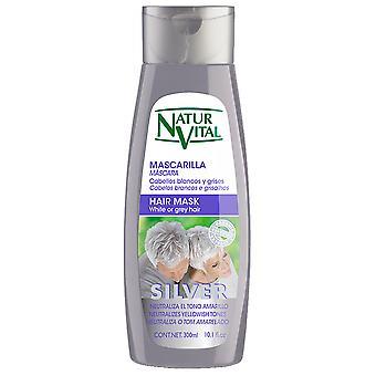 Naturaleza y Vida Mascarilla Silver White Or gray Hair 300 ml