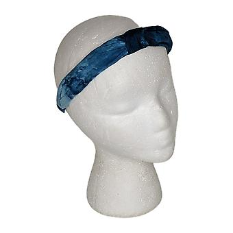 LOGO by Lori Goldstein One Printed Tie Dye Headband Blue A393984