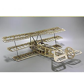 Laser Cut Balsa Wood Airplane