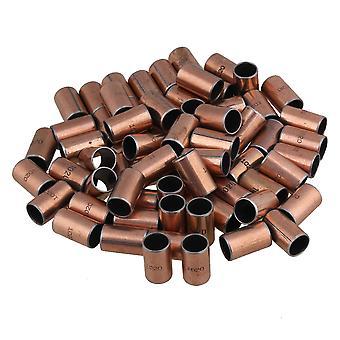 100 x Copper SF-1 Bushing Bearing 10mm x 12mm x 20mm Bush Motor Sleeve