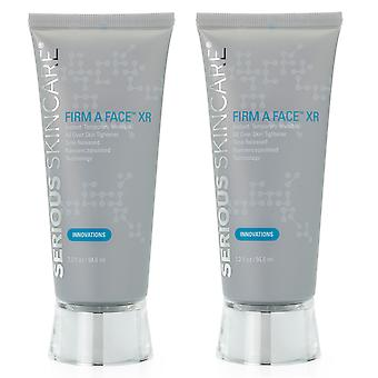 (2) Serious Skincare Firm A Face XR Skin Tightener Twin Pack 3.2 oz