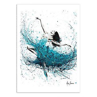 Art-Poster - Ballerina waves - Ashvin Harrison