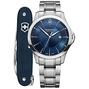 Victorinox alliance watch for Analog Quartz Men with stainless steel bracelet V241910.1