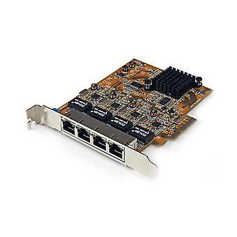 Startech 4Port Pci Express Nic Network Adapter Card