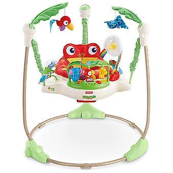 FengChun K7198 Rainforest Jumperoo Baby Hopser mit Spielzeugen hhverstellbaren