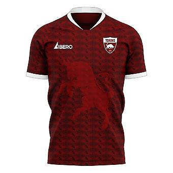 Torino 2020-2021 Home Concept Football Kit (Libero)