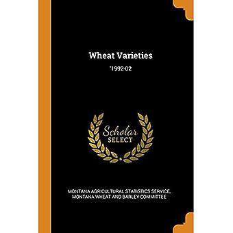 Wheat Varieties: '1992-02