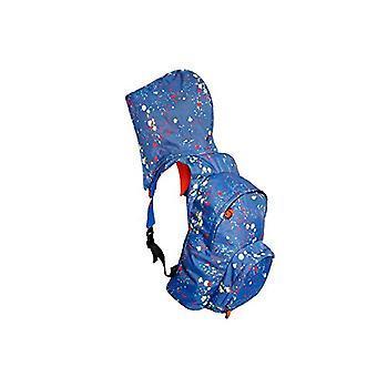 MorikukkoMorikukko Hooded Backpack Kool DropsUnisex - AdultZainiMulticolore (Kool Drops)33x8x40 Centimeters (W x H x L)