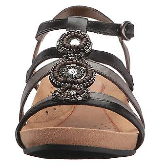Rockport Cobb Hill Collection Womens Hannah Leather Open Toe Casual Strappy Sandals